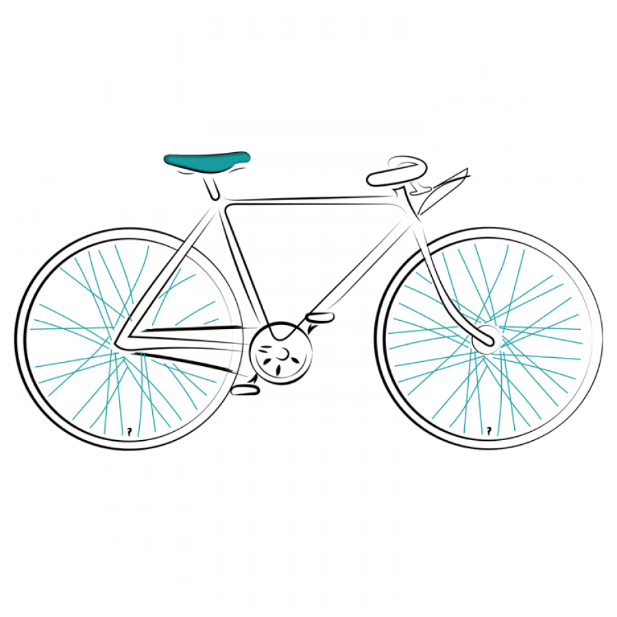 bike-on-circle